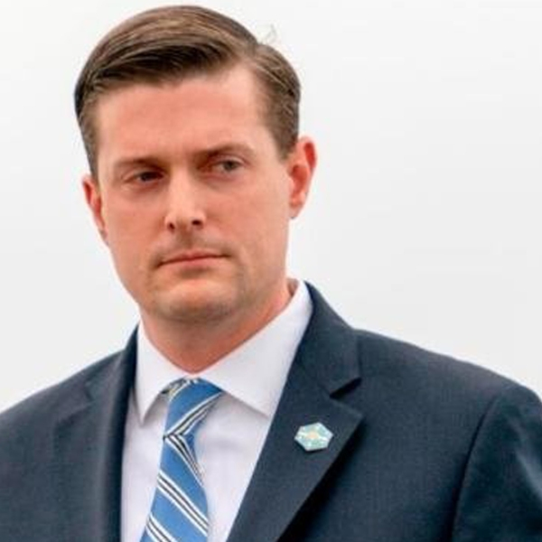 White House staff secretary Rob Porter, a top aide to President Donald Trump, has resigned the White House confirmed, following allegations of abuse from his two ex-wives. (Credit: Andrew Harnik/Associated Press)