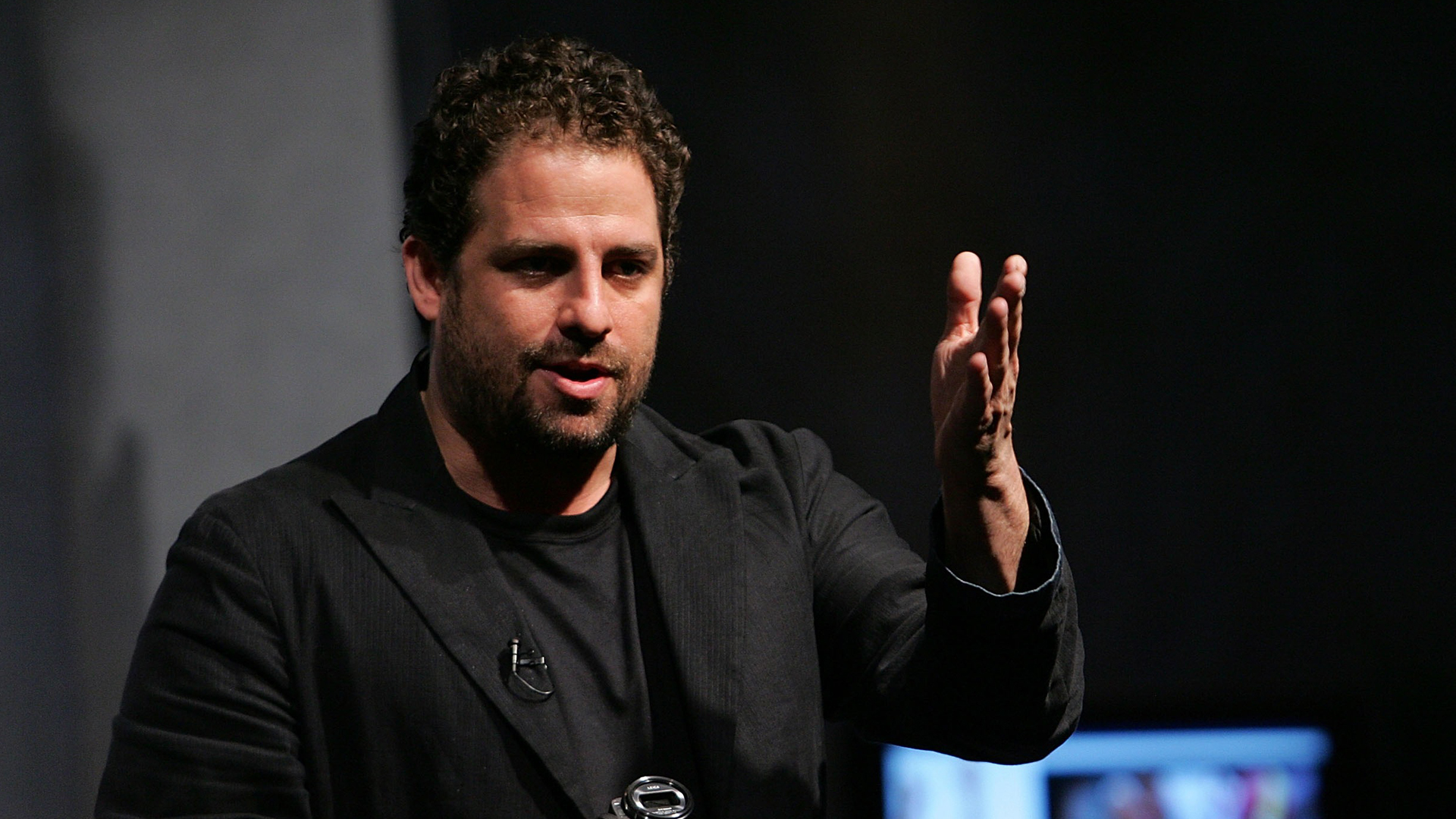 """Director Brett Ratner speaks at the launch of Panasonic's """"Living In High Definition"""" event at the Altman building on Aug. 1, 2007, in New York City. (Credit: Bryan Bedder/Getty Images)"""