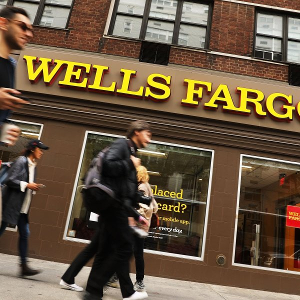"The Fed handed down unprecedented punishment for what it called Wells Fargo's ""widespread consumer abuses,"" including its notorious creation of millions of fake customer accounts. (Credit: Getty via CNN)"