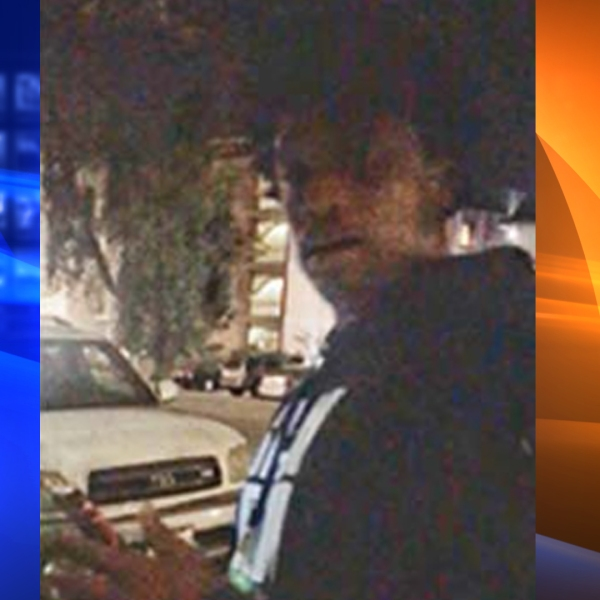 A man suspected of sexually assaulting a victim near UCLA is seen in an image provided by the school's Police Department.