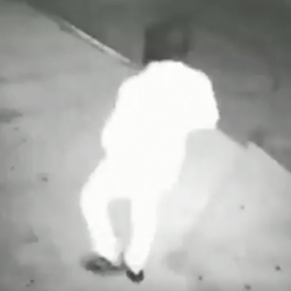 A man spotted in connection with recent killings in Las Vegas is seen in an image provided by the Las Vegas Metropolitan Police Department.