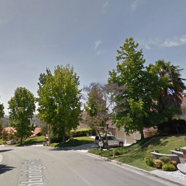 The block of Westlake Village where a man and woman were found dead as a result of being shot appears to be a residential area with large single-family homes. (Credit: Google Maps)
