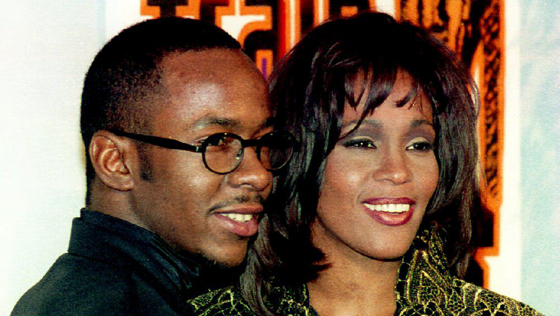 Bobby Brown and Whitney Houston are seen in a file photo. (Credit: VINCE BUCCI/AFP/Getty Images)