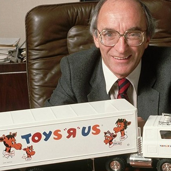 """Toys """"R"""" Us found Charles Lazarus is seen in a file photo. (Credit: Getty Images)"""