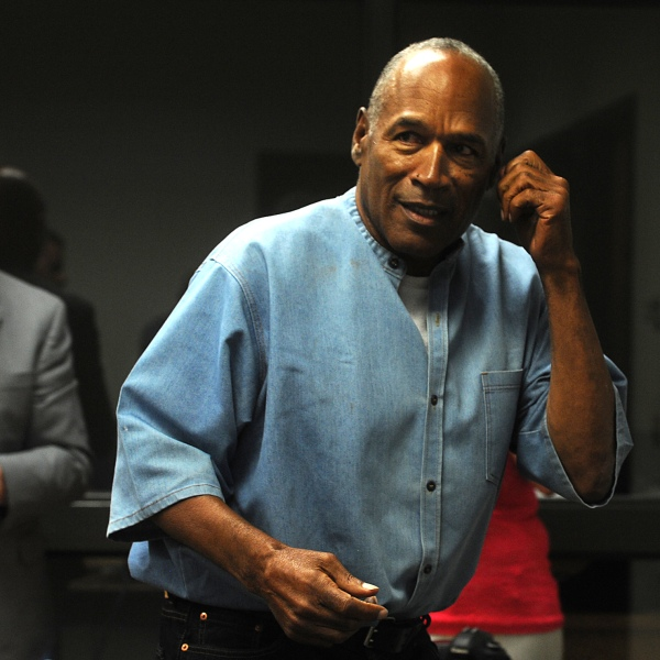 O.J. Simpson attends a parole hearing at Lovelock Correctional Center in Nevada, July 20, 2017. (Credit: Jason Bean / Getty Images)