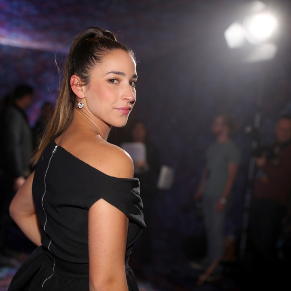 Olympic gymnast Aly Raisman attends the Super Saturday Night Concert in Minneapolis, Minnesota, on Feb. 3, 2018. (Credit: Christopher Polk / Getty Images)