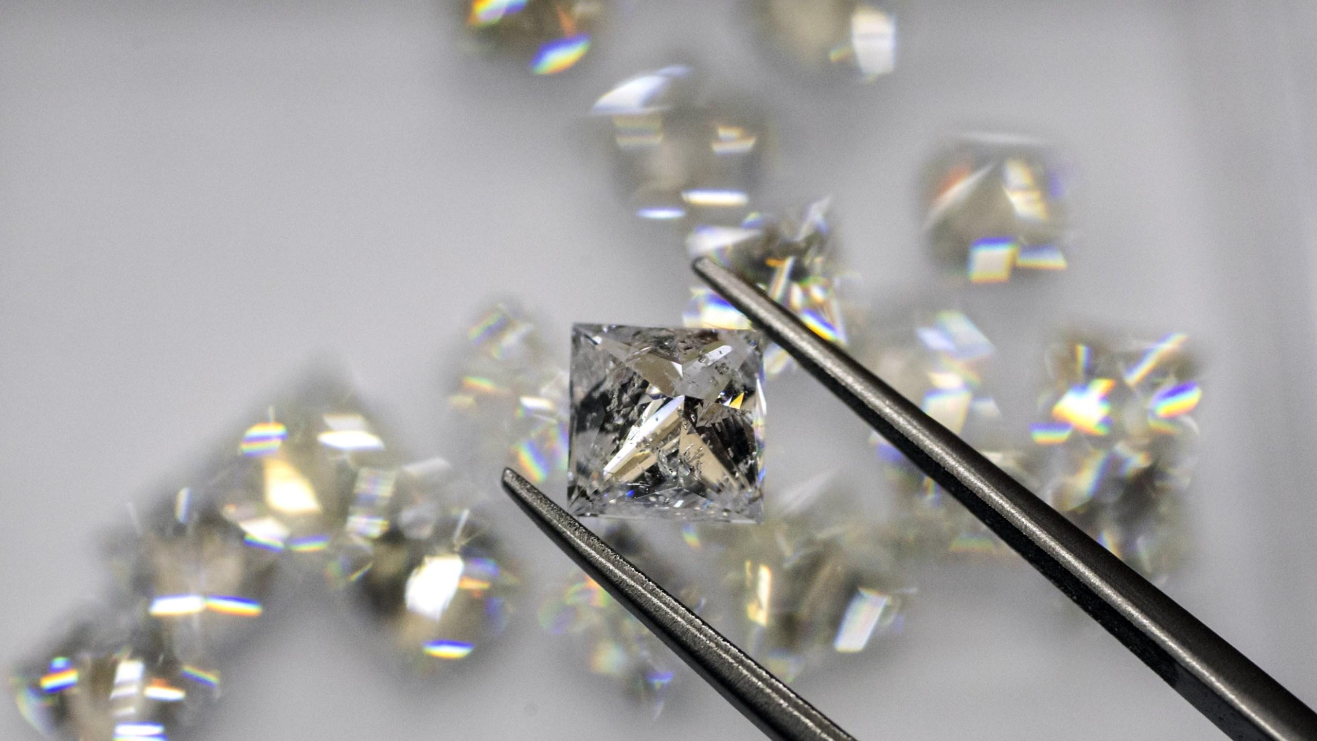Diamonds. (Credit: Jack Guez/AFP/Getty Images)