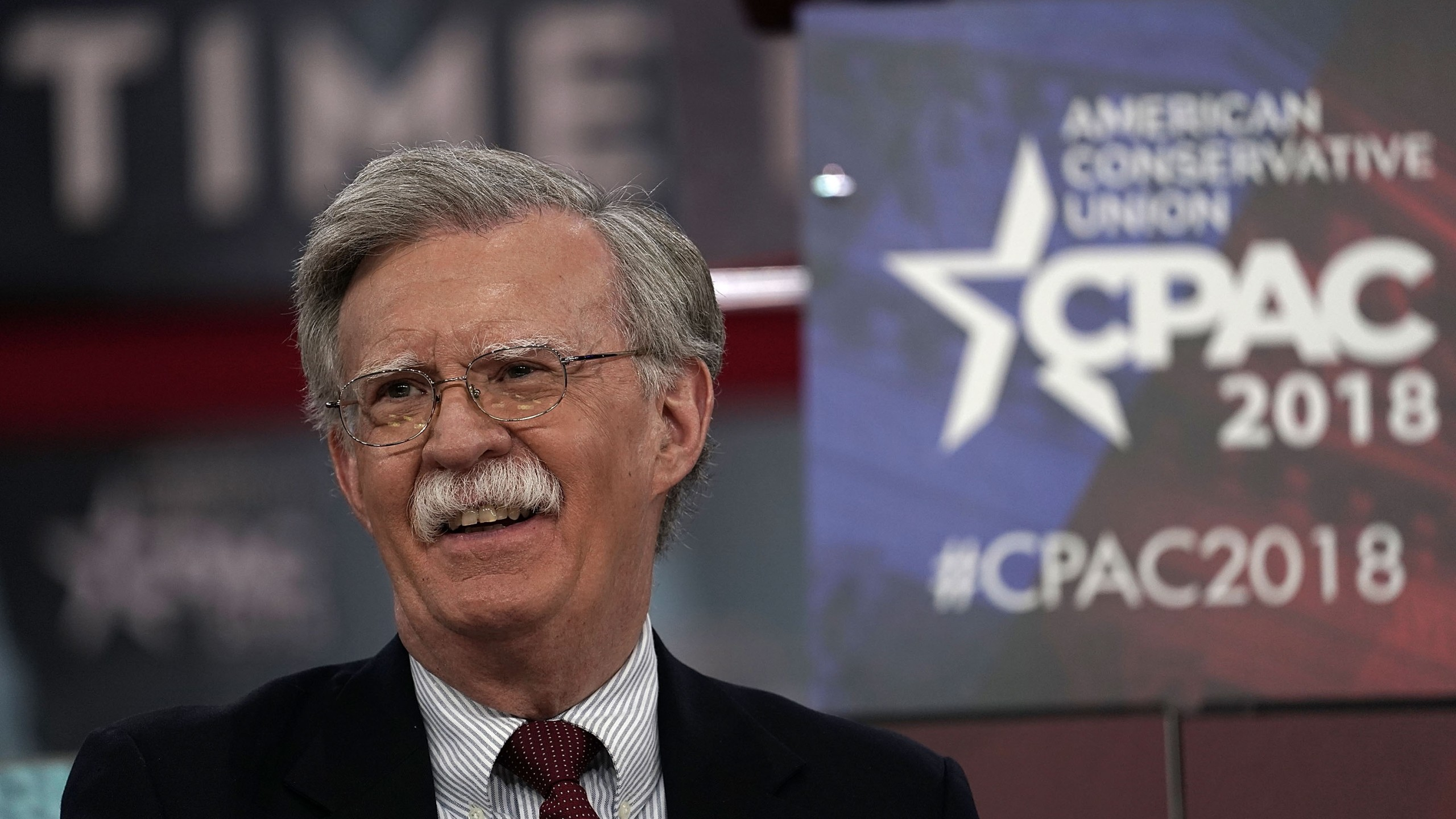 Former U.S. Ambassador to the United Nations John Bolton speaks during CPAC 2018 Feb. 22, 2018, in National Harbor, Maryland. The American Conservative Union hosted its annual Conservative Political Action Conference to discuss conservative agenda. (Credit: Alex Wong/Getty Images)