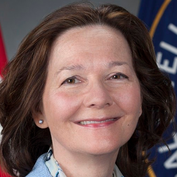 Gina Haspel is seen in a photo tweeted by the CIA on March 23, 2018.