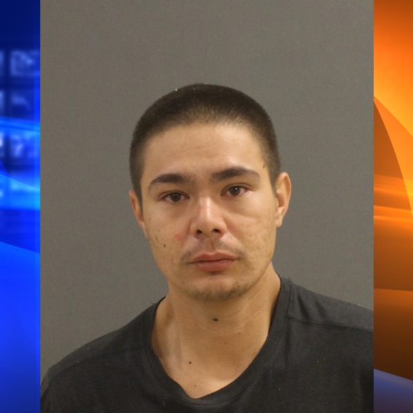 24-year-old Kodie Dylan Hitchcock was arrested by police in Anaheim home after leading them on a hourslong search.