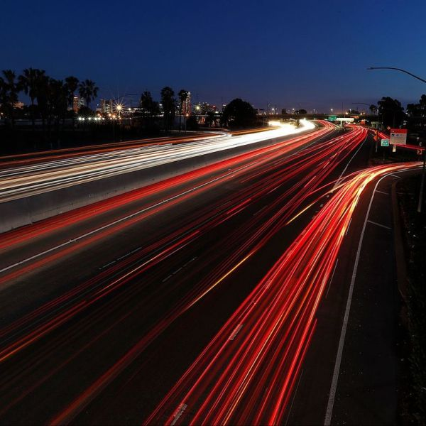 Metro's board of directors is scheduled to vote on a plan to expand the 710 Freeway between the ports and downtown Los Angeles. (Credit: Luis Sinco / Los Angeles Times)