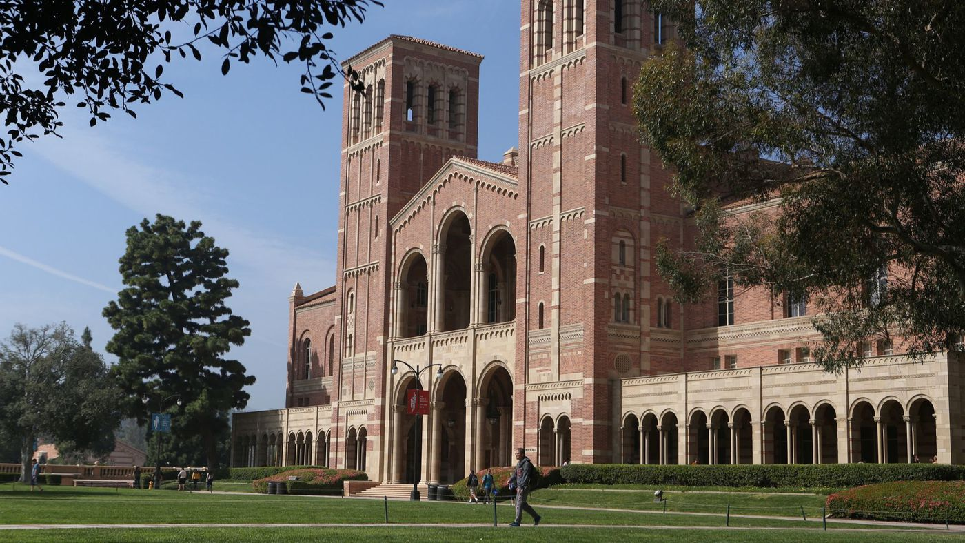 UCLA's campus is shown in a file photo.(Credit: Glenn Koenig / Los Angeles Times)