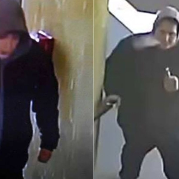 Stills from surveillance footage provided by Westminster police on March 14, 2018 shows a stabbing suspect at the Quality Inn in Westminster.