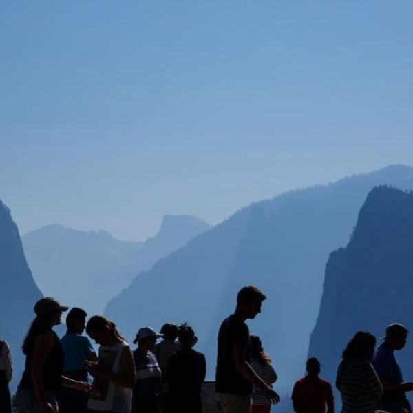 Yosemite Valley will be closed to visitors Friday as heavy rain moves into the area. (Credit: Marcus Yam / Los Angeles Times)
