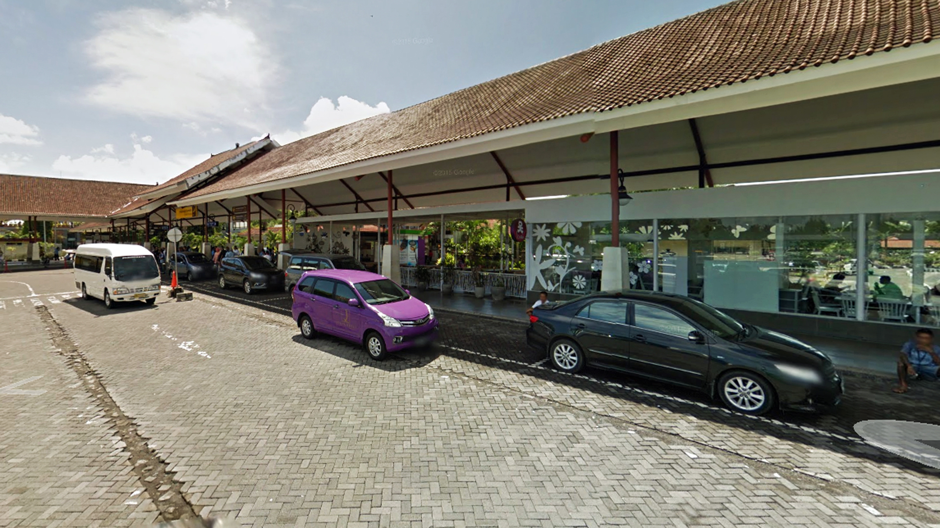 Ngurah Rai International Airport in Bali is seen in this image from Google Maps.