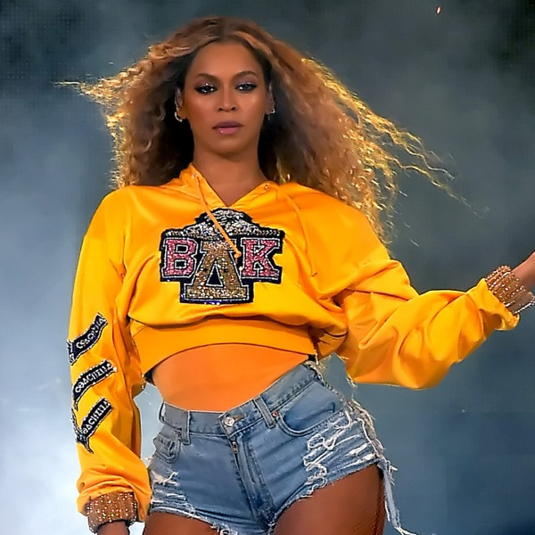 Beyoncé performs at the 2018 Coachella Valley Music And Arts Festival at the Empire Polo Field on April 14, 2018 in Indio. (Credit: Kevin Winter/Getty Images for Coachella)