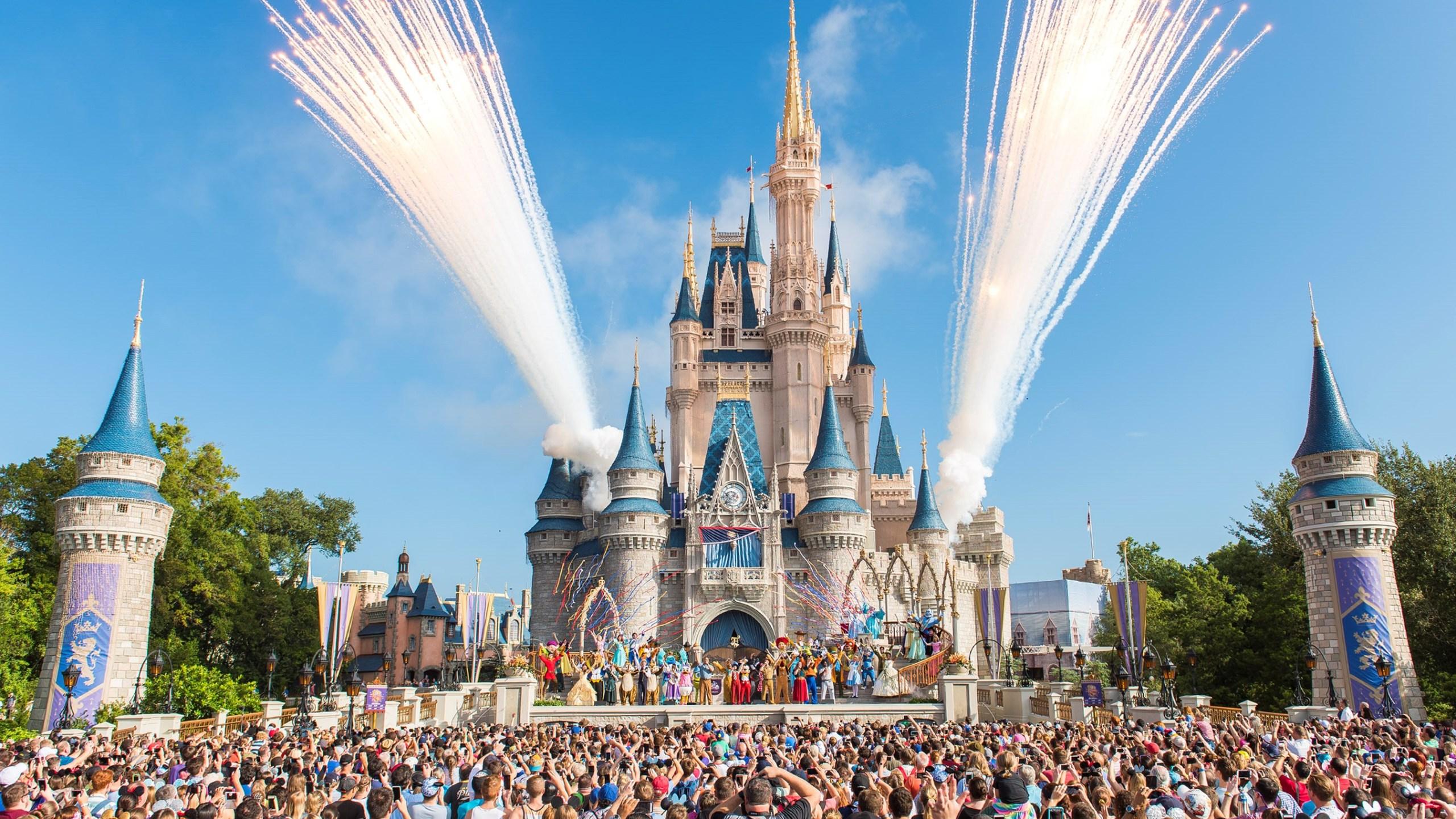 Walt Disney World Resort marked its 45th anniversary on October 1, 2016 in Lake Buena Vista, Florida. (Credit: Jacqueline Nell/Disneyland Resort via Getty Images)