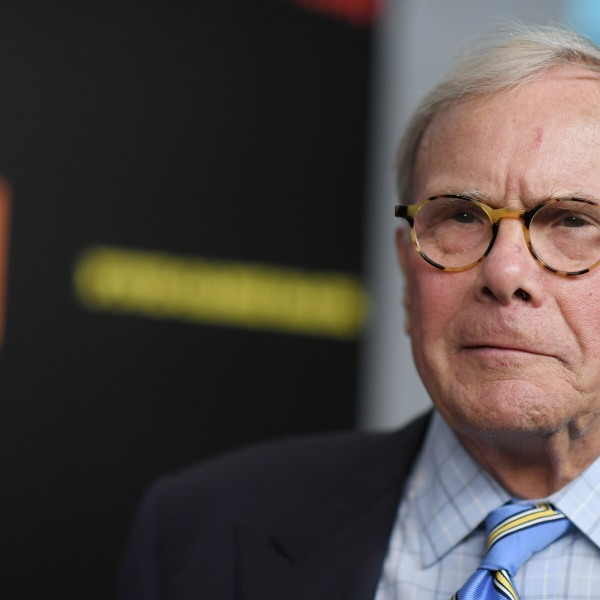 """Tom Brokaw attends the """"Five Came Back"""" world premiere at Alice Tully Hall at Lincoln Center on March 27, 2017 in New York City. (Credit: Mike Coppola/Getty Images)"""