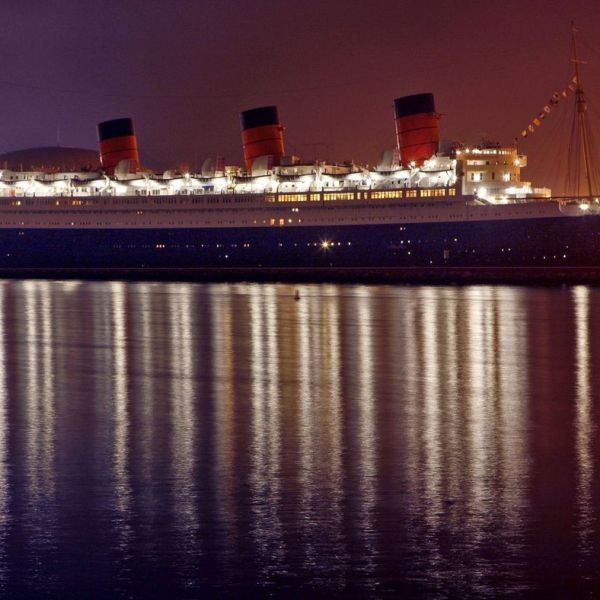 The Queen Mary in Long Beach Harbor, beginning on April 13, 2018, or Friday the 13th, will rent out a room that has been closed for nearly 40 years and is said to be haunted. (Credit: Mark Boster / Los Angeles Times)