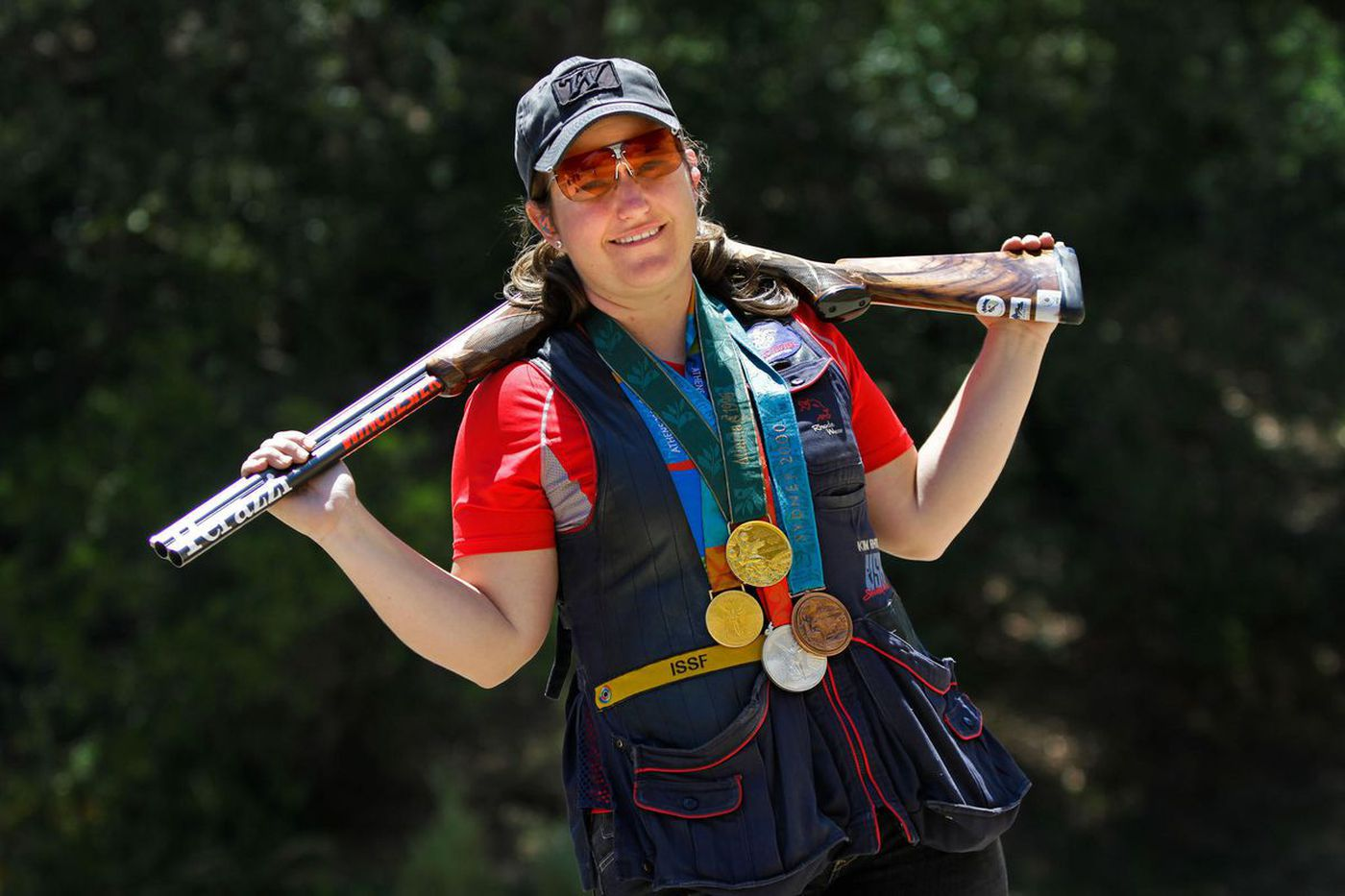 Olympian Kim Rhode is a plaintiff in a lawsuit filed by the NRA and its state affiliate against California. (Credit: Jay L. Clendenin / Los Angeles Times)