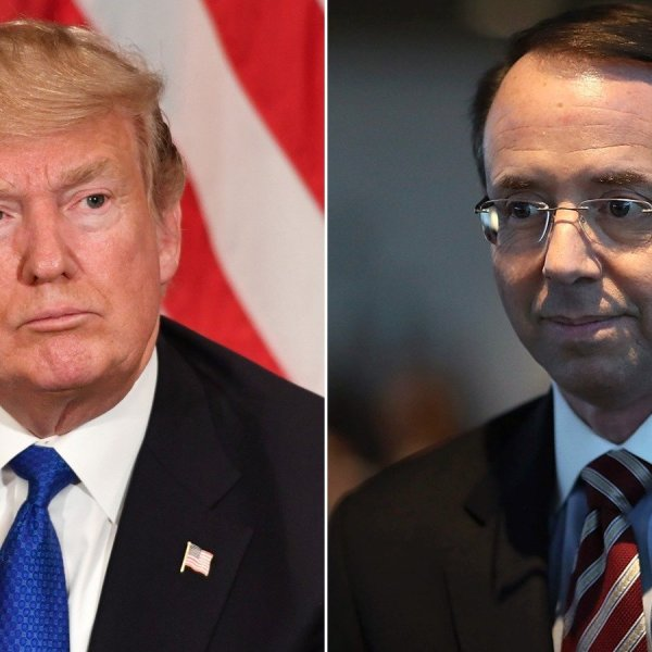 President Donald Trump is considering firing Deputy Attorney General Rod Rosenstein, multiple people familiar with the discussions tell CNN, a move that has gained urgency following the raid of the office of the President's personal lawyer.