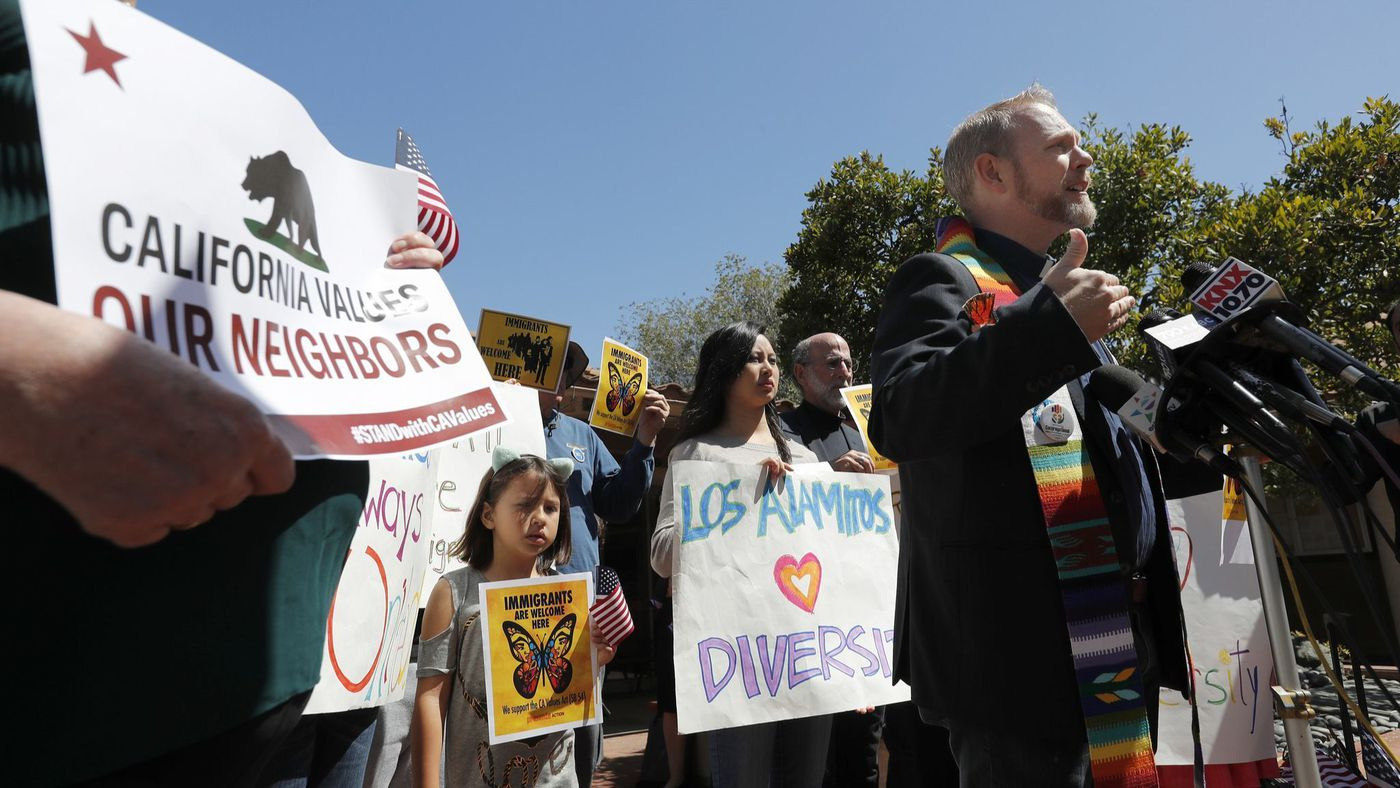 """Los Alamitos' illegal ordinance causes serious harm to my ability to serve my congregation,"" the Rev. Samuel Pullen says. (Credit: Allen J. Schaben / Los Angeles Times)"