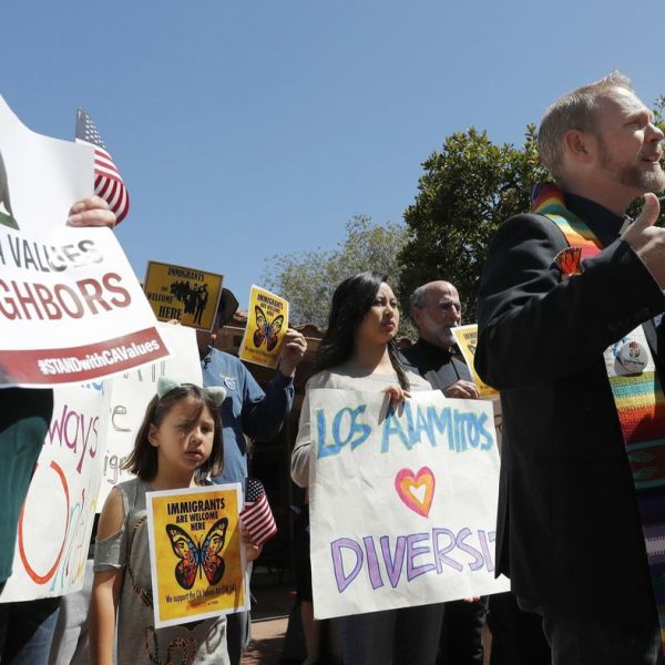 """""""Los Alamitos' illegal ordinance causes serious harm to my ability to serve my congregation,"""" the Rev. Samuel Pullen says. (Credit: Allen J. Schaben / Los Angeles Times)"""