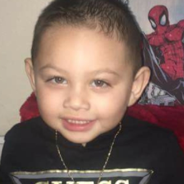 Eidan Cortez is seen in a photo posted to a GoFundMe page.