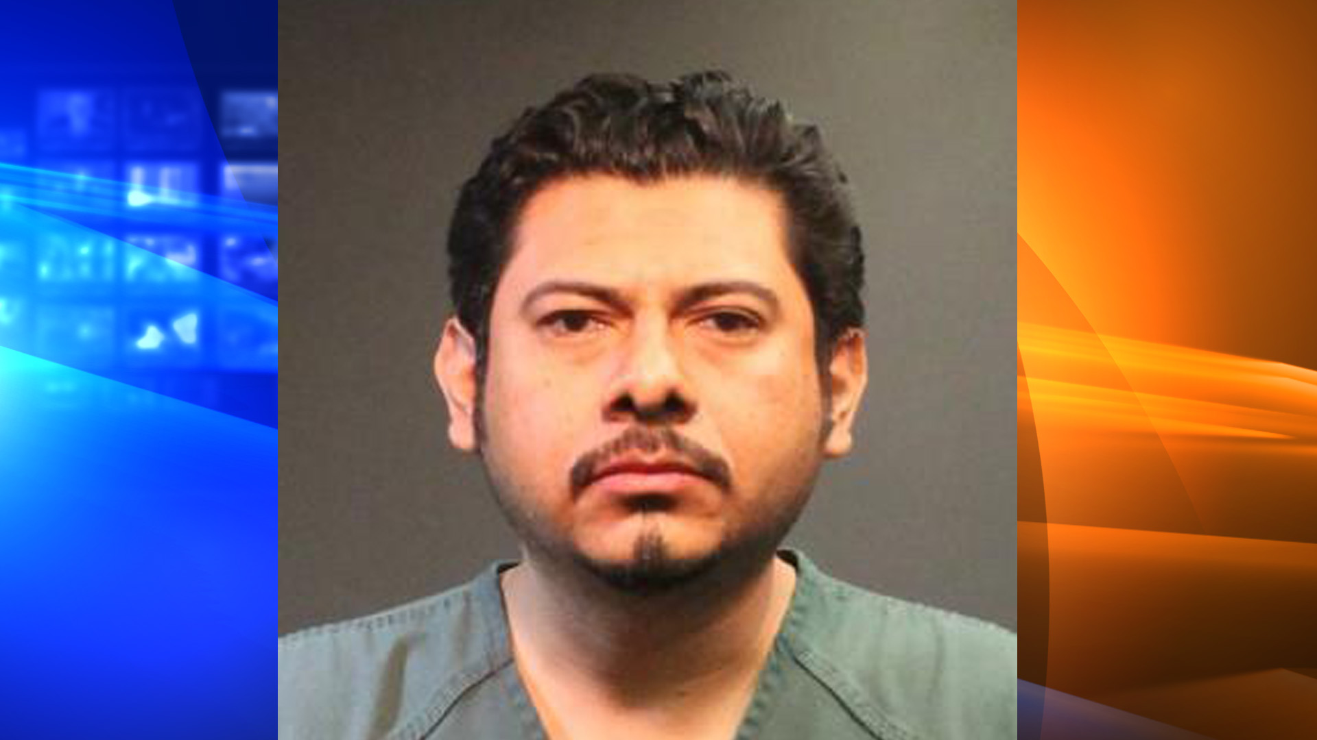 Antonio Davila is seen in a booking photo provided by the Santa Ana Police Department on May 24, 2018.