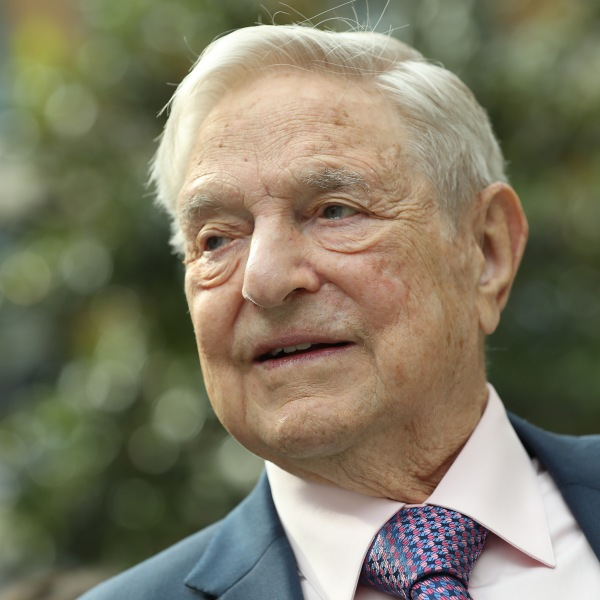 Financier and philanthropist George Soros attends the official opening of the European Roma Institute for Arts and Culture at the German Foreign Ministry on June 8, 2017. (Credit: Sean Gallup/Getty Images)