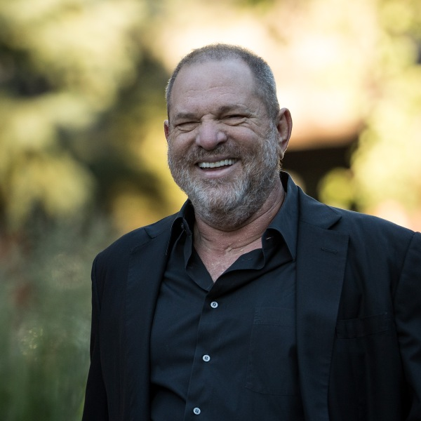 Harvey Weinstein attends the Allen and Company Sun Valley Conference on July 12, 2017, in Sun Valley, Idaho. (Credit: Drew Angerer/Getty Images)
