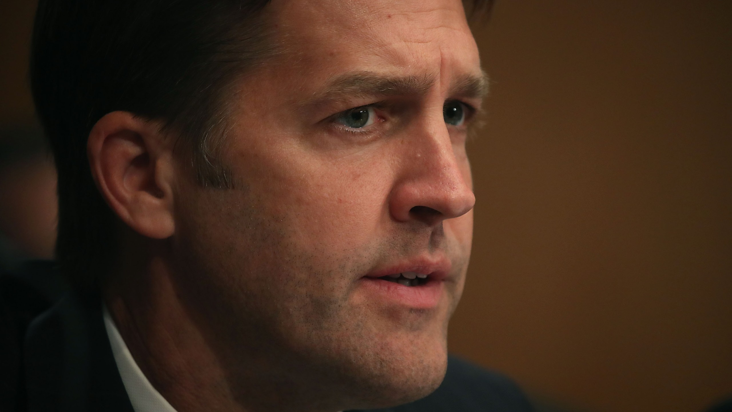 Sen. Ben Sasse, R-NE, listens during a hearing in the Hart Senate Office Building on Capitol Hill on Oct. 4, 2017 in Washington, D.C. (Credit: Mark Wilson/Getty Images)
