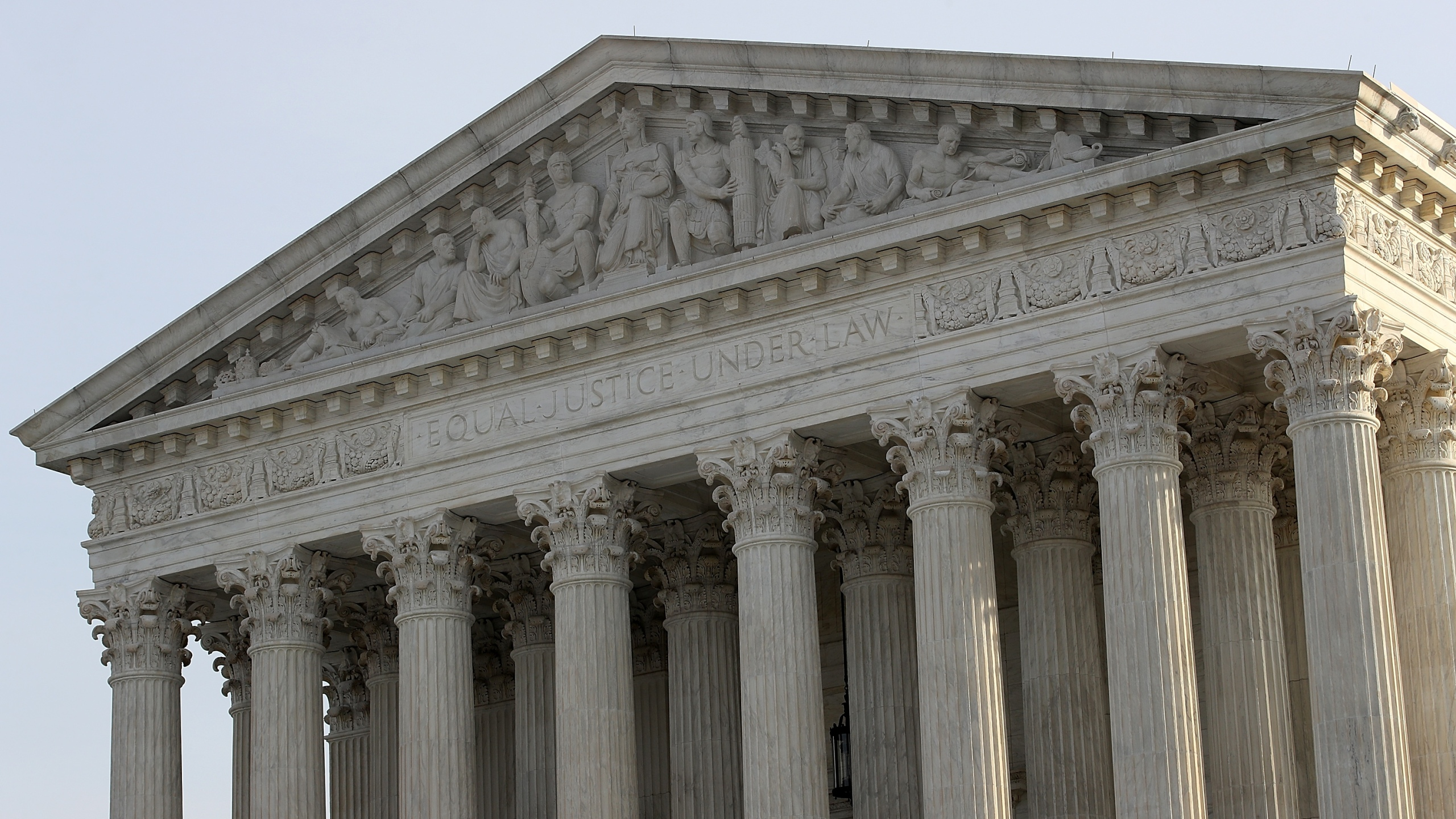 The U.S. Supreme Court is shown on December 4, 2017, in Washington, D.C. (Credit: Win McNamee/Getty Images)
