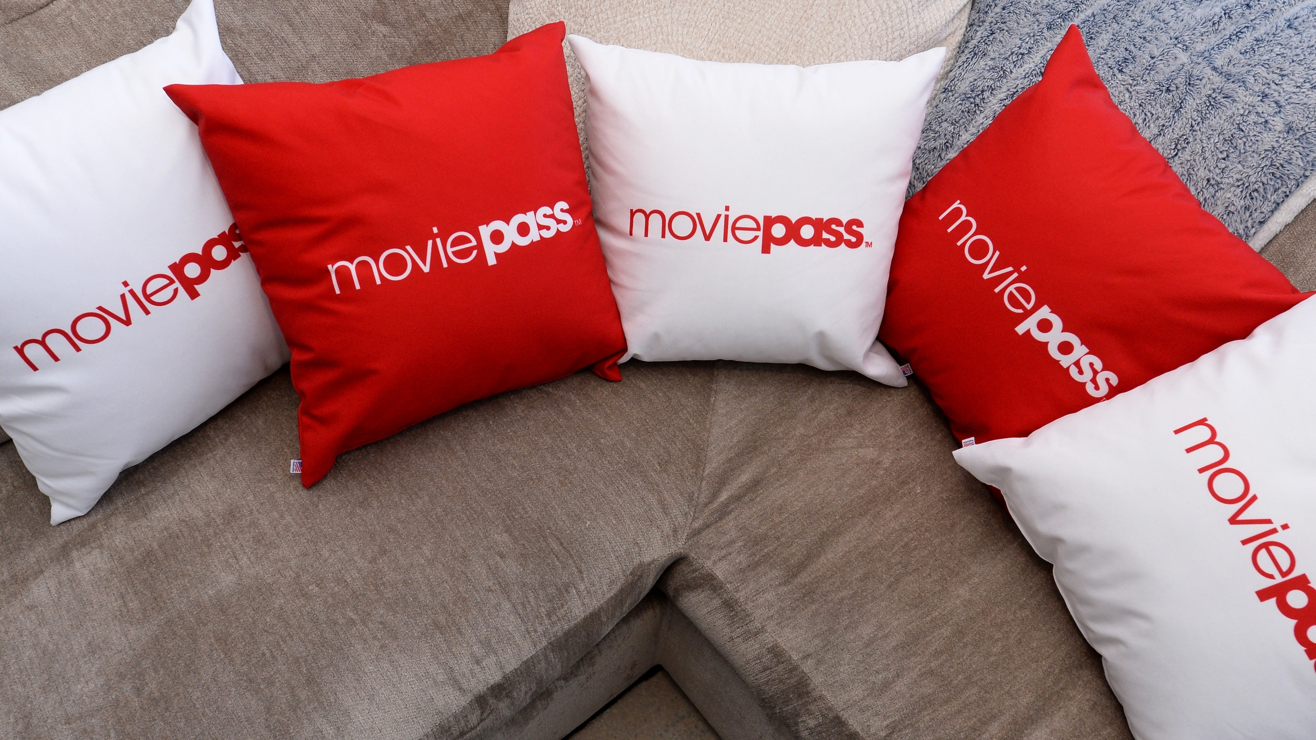 A view of signage at the MoviePass House Park City during Sundance 2018 on January 21, 2018 in Park City, Utah. (Credit: Daniel Boczarski/Getty Images for MoviePass)