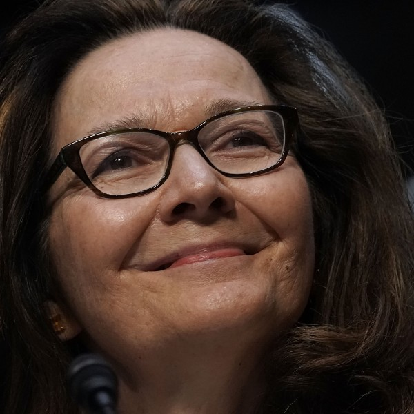 CIA Director nominee Gina Haspel speaks during her confirmation hearing before the Senate (Select) Committee on Intelligence May 9, 2018 in Washington, DC. (Credit: Alex Wong/Getty Images)