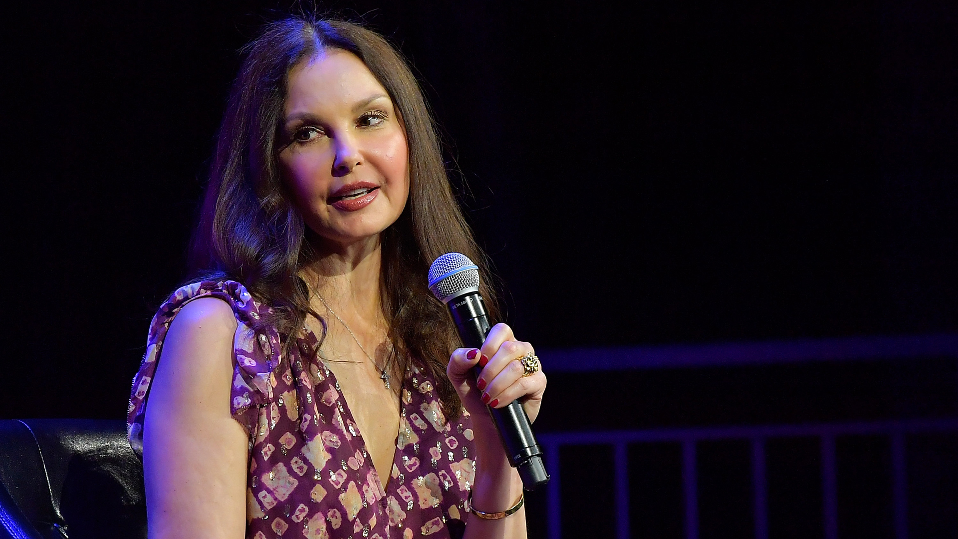 Ashley Judd speaks during an event at the 2018 Tribeca Film Festival in New York City on April 28, 2018. (Credit: Roy Rochlin/Getty Images for Tribeca Film Festival)