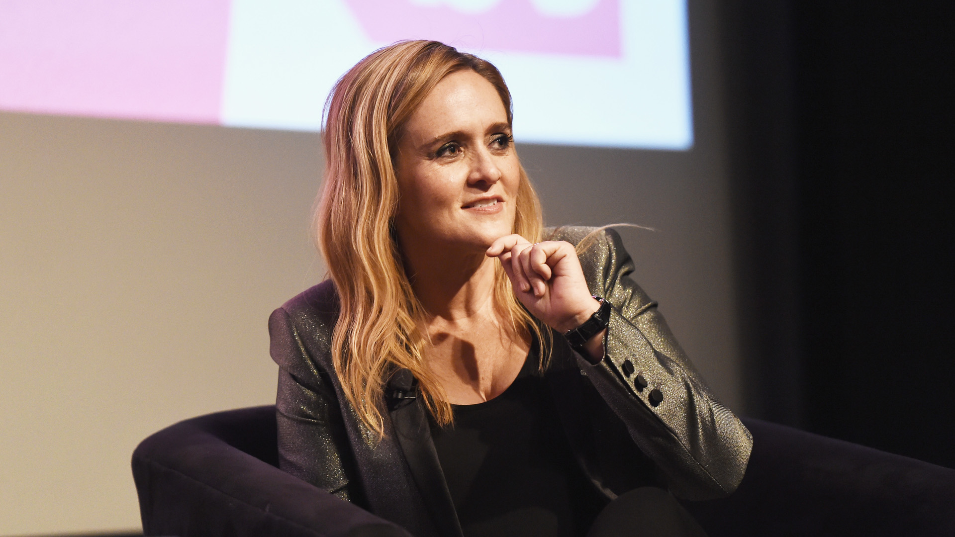 "Political commentator Samantha Bee attends TBS' ""Full Frontal With Samantha Bee"" FYC Event at the Writers Guild Theater on May 24, 2018 in Beverly Hills. (Credit: Amanda Edwards/Getty Images)"