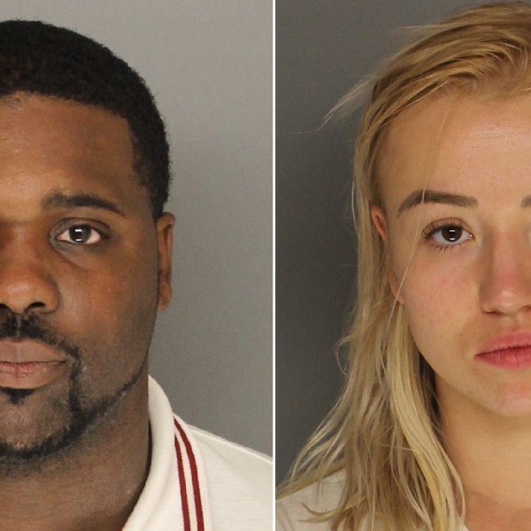 Deshawn McDougal and Iryna Melnyk are seen in booking photos released by the Santa Barbara County Sheriff's Department on May 31, 2018.