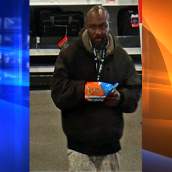 A robbery suspect in West Hollywood is shown in a photo released by the Los Angeles County Sheriff's Department on May 23, 2018.