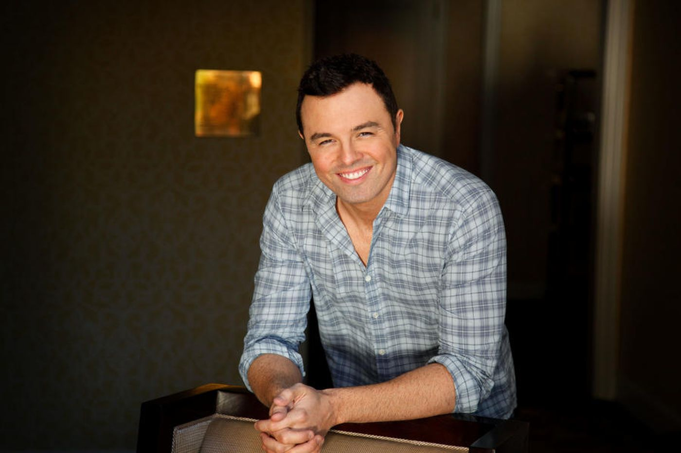 Writer, director and animator Seth MacFarlane is seen in an undated photo. (Credit: Barbara Davidson / Los Angeles Times)