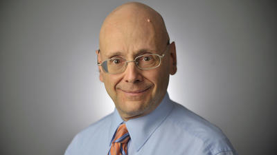 Gerald Fischman, an editorial page editor for the Capital Gazette, is shown in an undated photo on the newspaper's website.