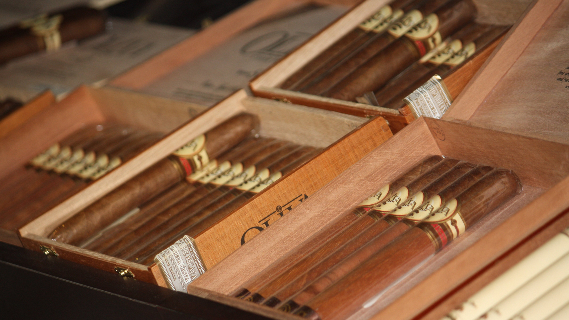 A file photo of flavored cigars. (Credit: John Couwels/CNN)