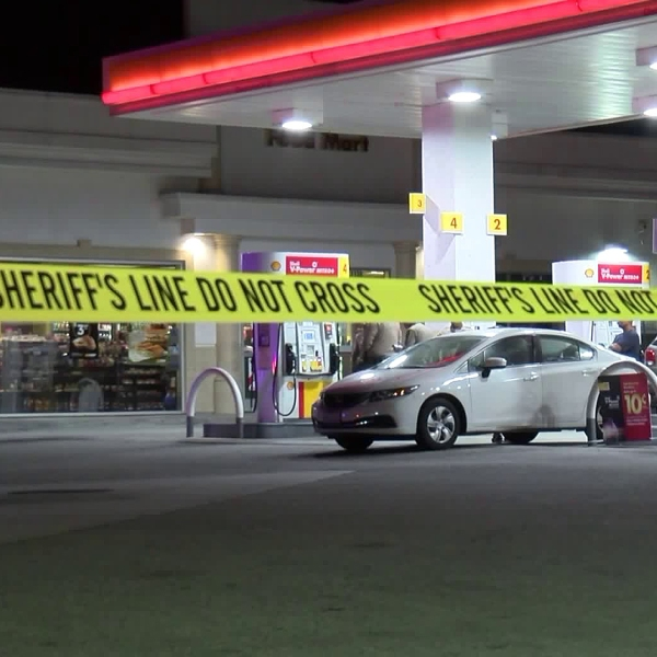 Authorities investigate a shooting in South El Monte on June 4, 2018. (Credit: RMG News)