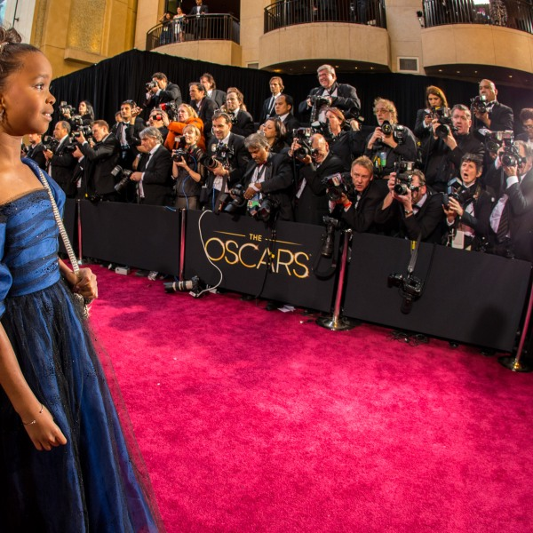 Actress Quvenzhane Wallis arrives at the Oscars held at Hollywood & Highland Center on February 24, 2013 in Hollywood. (Credit: Christopher Polk/Getty Images)