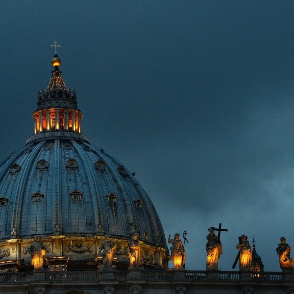 A general view of St. Peter's Basilica on March 10, 2013 in Vatican City, Vatican. (Credit: Jeff J Mitchell/Getty Images)