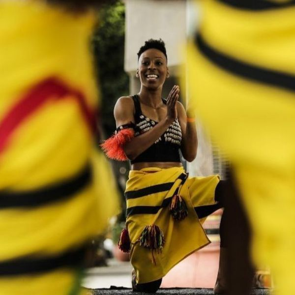 Leimert Park Village in South L.A. hosted one of several Juneteenth celebrations across the region June 16, 2018. (Credit: Maria Alejandra Cardona / Los Angeles Times)