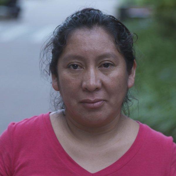 Beata Mariana de Jesus Mejia-Mejia is shown in a photo taken on June 21, 2018 in Washington D.C. (Credit: CNN)