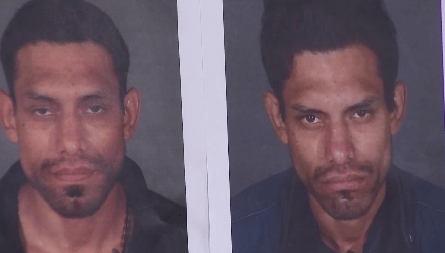 Oscar Armando Lopez is seen in booking photos released by the Los Angeles Police Department on June 11, 2018.