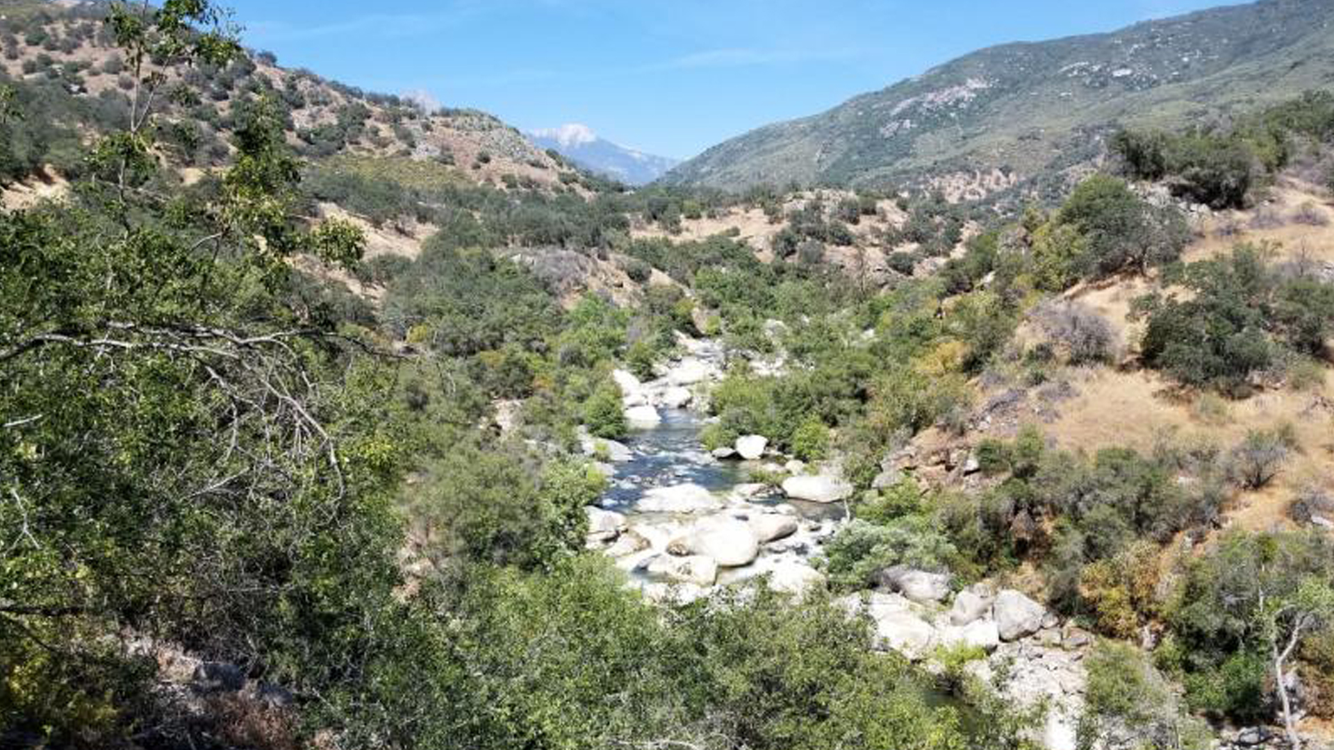 An undated photo shows the Kaweah River in Sequoia National Park. (Credit: National Park Service)