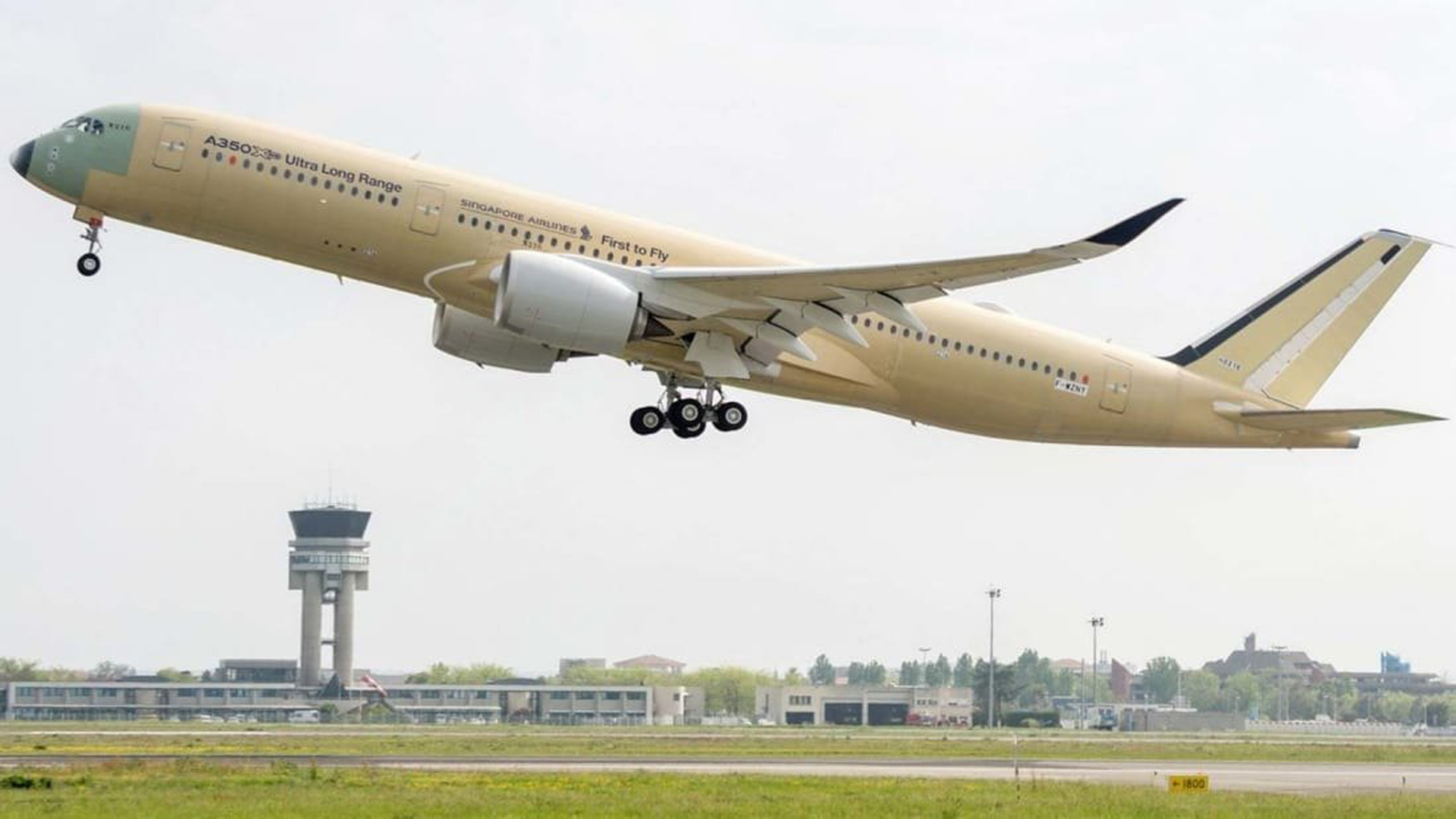By the end of 2018, Singapore Airlines new Airbus A350-900ULR will go into service between Singapore and New York. The 20-hour trip will become the world's longest non-stop flight route. (Credit: Airbus)